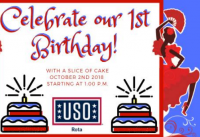 USO Rota's 1st Birthday!